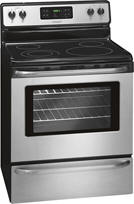 "Frigidaire - 30"" Self-Cleaning Freestanding Electric Range - Stainless-Steel"